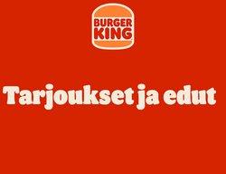 Burger King luettelo, ( 7 päivää jäljellä)