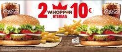 Ravintolat tarjoukset Burger King kuvastossa Helsinki