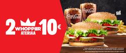 Tarjouksia yritykseltä Burger King kaupungissa Lahti lehtisiä