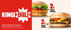 Burger King -kuponki kaupungissa Helsinki ( 6 päivää jäljellä )