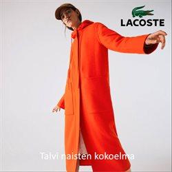Vaatteet ja Kengät tarjoukset Lacoste kuvastossa Kouvola ( Yli 30 päivää )