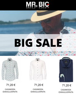 Tarjouksia yritykseltä Mr. Big kaupungissa Mr. Big lehtisiä ( Vanhenee tänään)