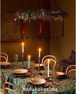 Koti ja Huonekalut tarjoukset Zara Home kuvastossa Salo ( Yli 30 päivää )