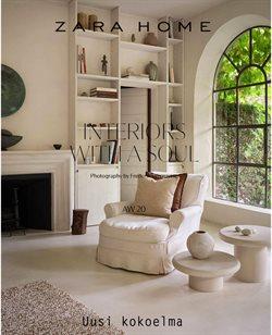 Koti ja Huonekalut tarjoukset Zara Home kuvastossa Lohja ( Yli 30 päivää )