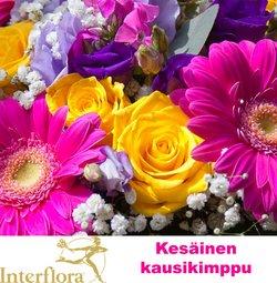 Tarjouksia yritykseltä Interflora kaupungissa Interflora lehtisiä ( Julkaistu eilen)