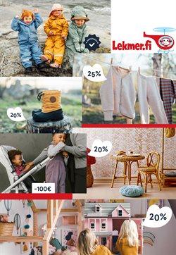 Lelut ja Vauvat tarjoukset Lekmer.fi kuvastossa Kuopio ( 2 päivää jäljellä )