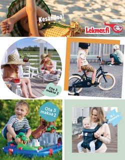 Tarjouksia yritykseltä Lelut ja Vauvat kaupungissa Lekmer.fi lehtisiä ( 4 päivää jäljellä)