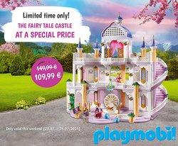 Tarjouksia yritykseltä Lelut ja Vauvat kaupungissa Playmobil lehtisiä ( Vanhenee pian)