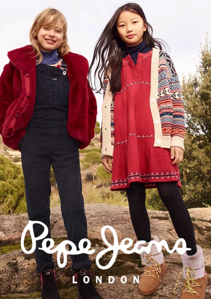Tarjouksia yritykseltä Pepe Jeans kaupungissa Helsinki lehtisiä