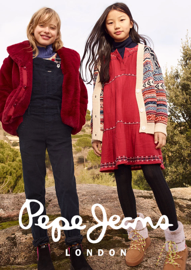 Pepe Jeans luettelo, ( 17 päivää jäljellä )