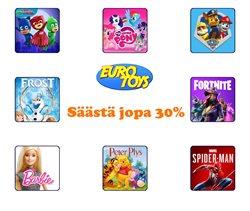 Lelut ja Vauvat tarjoukset Euro Toys kuvastossa Kuopio ( 2 päivää jäljellä )