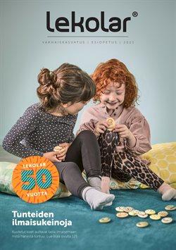 Lelut ja Vauvat tarjoukset Lekolar kuvastossa Kuopio ( Yli 30 päivää )