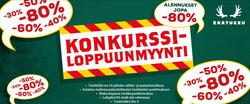Ale tarjoukset Erätukku kuvastossa Helsinki