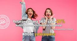 Tarjouksia yritykseltä Life kaupungissa Kerava lehtisiä 20% Alennus 7d14cb760d