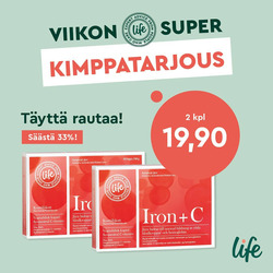Life -kuponki kaupungissa Vantaa ( Vanhenee tänään )
