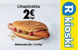 Tarjouksia yritykseltä R-Kioski kaupungissa R-Kioski lehtisiä ( 26 päivää jäljellä)