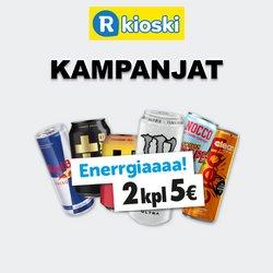 Tarjouksia yritykseltä R-Kioski kaupungissa R-Kioski lehtisiä ( 22 päivää jäljellä)