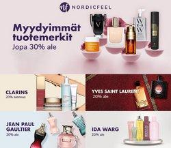 Tarjouksia yritykseltä Kosmetiikka ja Kauneus kaupungissa Nordicfeel lehtisiä ( 5 päivää jäljellä)