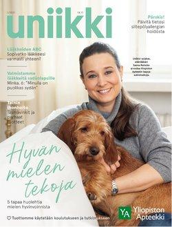 Tarjouksia yritykseltä Terveys ja Optiikka kaupungissa Yliopiston Apteekki lehtisiä ( 15 päivää jäljellä)