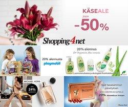 Tarjouksia yritykseltä Shopping4net kaupungissa Shopping4net lehtisiä ( 4 päivää jäljellä)