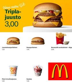 McDonald's luettelo, ( 13 päivää jäljellä )