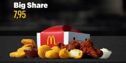 Tarjouksia yritykseltä McDonald's kaupungissa Helsinki lehtisiä