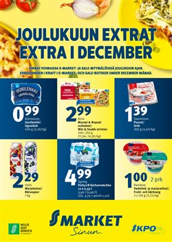 S-Market -luettelo, Espoo ( 2 päivää sitten )