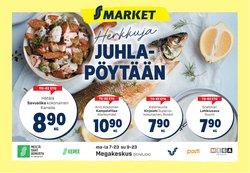 Tarjouksia yritykseltä S-Market kaupungissa S-Market lehtisiä ( Julkaistu eilen)