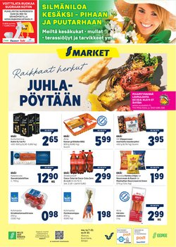 Tarjouksia yritykseltä S-Market kaupungissa S-Market lehtisiä ( Julkaistu tänään)