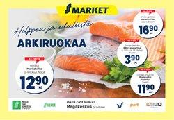 S-Market luettelo, ( Vanhenee pian)