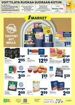 Tarjouksia yritykseltä S-Market kaupungissa S-Market lehtisiä ( 2 päivää jäljellä)