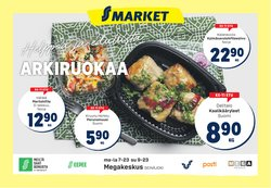 Tarjouksia yritykseltä Supermarket kaupungissa S-Market lehtisiä ( Julkaistu eilen)