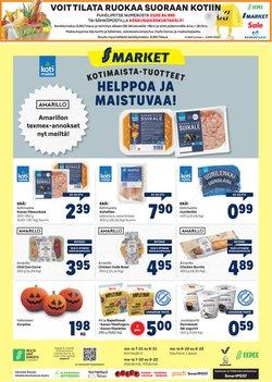 S-Market luettelo, ( Vanhenee tänään)