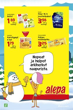 Alepa -luettelo, Helsinki ( Vanhentunut )