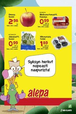 Tarjouksia yritykseltä Alepa kaupungissa Alepa lehtisiä ( Julkaistu eilen)