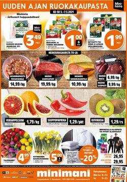 Rautakauppa tarjoukset Minimani kuvastossa Lempäälä ( Vanhenee tänään )