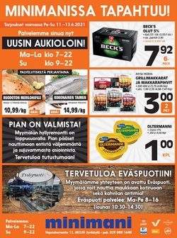 Tarjouksia yritykseltä Minimani kaupungissa Minimani lehtisiä ( Vanhenee tänään)