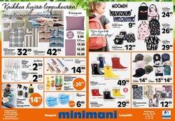 Tarjouksia yritykseltä Minimani kaupungissa Minimani lehtisiä ( Julkaistu tänään)