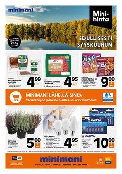 Tarjouksia yritykseltä Rautakauppa kaupungissa Minimani lehtisiä ( Vanhenee tänään)