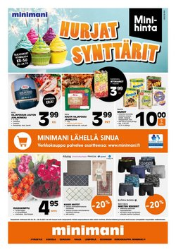 Tarjouksia yritykseltä Rautakauppa kaupungissa Minimani lehtisiä ( Julkaistu tänään)