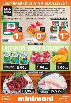 Tarjouksia yritykseltä Rautakauppa kaupungissa Minimani lehtisiä ( Julkaistu eilen)