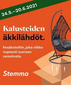 Tarjouksia yritykseltä Stemma kaupungissa Stemma lehtisiä ( 6 päivää jäljellä)