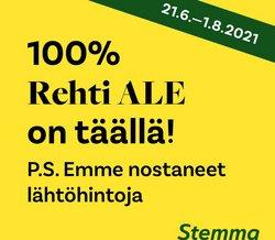 Tarjouksia yritykseltä Stemma kaupungissa Stemma lehtisiä ( Vanhentunut)