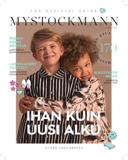 Tarjouksia yritykseltä Vaatteet ja Kengät kaupungissa Stockmann lehtisiä ( Julkaistu tänään)