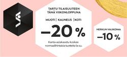 Tarjouksia yritykseltä Stockmann kaupungissa Helsinki lehtisiä