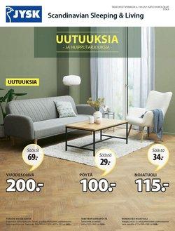 Tarjouksia yritykseltä JYSK kaupungissa JYSK lehtisiä ( Vanhenee tänään)
