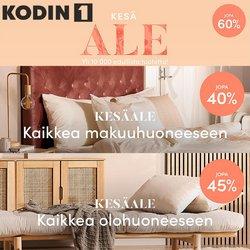 Tarjouksia yritykseltä Kodin1 kaupungissa Kodin1 lehtisiä ( Vanhenee pian)