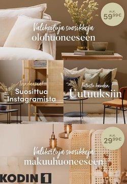 Tarjouksia yritykseltä Kodin1 kaupungissa Kodin1 lehtisiä ( 11 päivää jäljellä)
