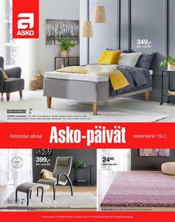 Tarjouksia yritykseltä Koti ja Huonekalut kaupungissa Asko lehtisiä ( 18 päivää jäljellä )