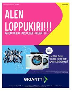 Elektroniikka ja Kodinkoneet tarjoukset Gigantti kuvastossa Järvenpää ( Julkaistu eilen )